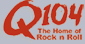 Q104 logo and link